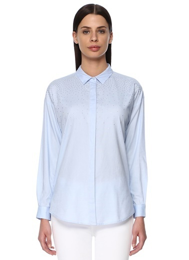 NetWork Uzun Kollu Gömlek Mavi